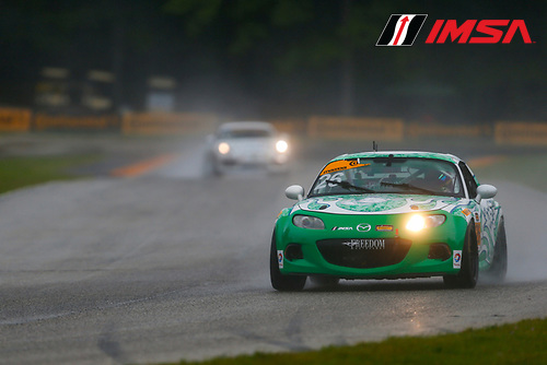 IMSA Continental Tire SportsCar Challenge<br /> Road America 120<br /> Road America, Elkhart Lake, WI USA<br /> Friday 4 August 2017<br /> 26, Mazda, Mazda MX-5, ST, Andrew Carbonell, Liam Dwyer<br /> World Copyright: Jake Galstad<br /> LAT Images