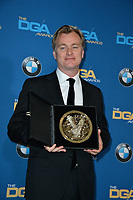 Christopher Nolan at the 70th Annual Directors Guild Awards at the Beverly Hilton Hotel, Beverly Hills, USA 03 Feb. 2018<br /> Picture: Paul Smith/Featureflash/SilverHub 0208 004 5359 sales@silverhubmedia.com