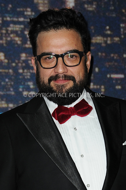 WWW.ACEPIXS.COM<br /> February 15, 2015 New York City<br /> <br /> Horatio Sanz walking the red carpet at the SNL 40th Anniversary Special at 30 Rockefeller Plaza on February 15, 2015 in New York City.<br /> <br /> Please byline: Kristin Callahan/AcePictures<br /> <br /> ACEPIXS.COM<br /> <br /> Tel: (646) 769 0430<br /> e-mail: info@acepixs.com<br /> web: http://www.acepixs.com