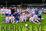 Saint Marys team celebrate after defeating Spa in the Intermediate final at Fitzgerald Stadium on Sunday.