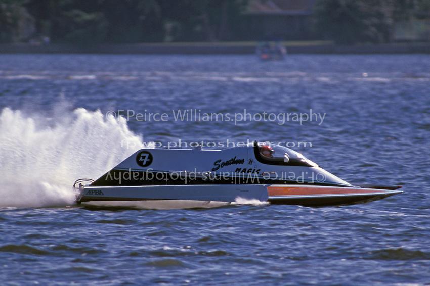 "A-7 ""Southern Magic"" 1996  (2.5 MOD class hydroplane(s)..© F. Peirce Williams 1996"