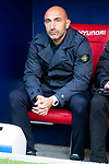 Deportivo Alaves coach Abelardo Fernandez during La Liga match between Atletico de Madrid and Deportivo Alaves at Wanda Metropolitano in Madrid, Spain. December 08, 2018. (ALTERPHOTOS/Borja B.Hojas)