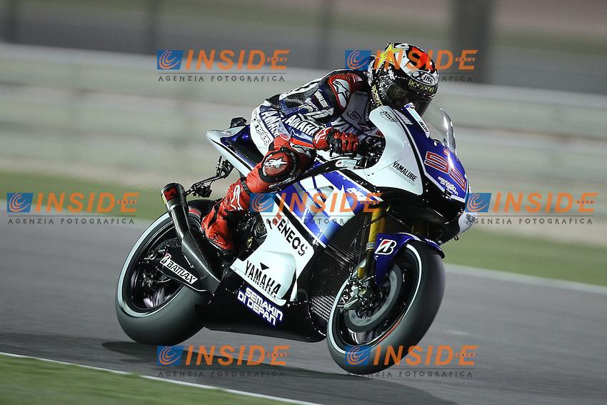 Jorge Lorenzo - Yamaha factory team.05-04-2012 Doha (QATAR).Motomondiale Gp Qatar.Foto Semedia / Insidefoto