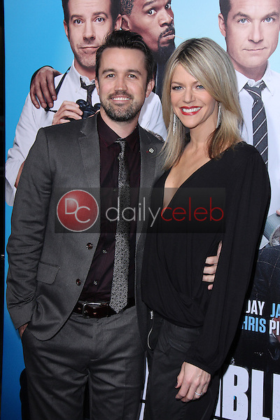 """Rob McElhenney, Kaitlin Olsen<br /> at the """"Horrible Bosses 2"""" Los Angeles Premiere, TCL Chinese Theater, Hollywood, CA 11-20-14<br /> David Edwards/DailyCeleb.com 818-249-4998"""