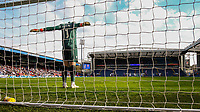 Stoke City's Jack Butland stretches before the second half kicks off<br /> <br /> Photographer Alex Dodd/CameraSport<br /> <br /> The EFL Sky Bet Championship - Blackburn Rovers v Stoke City - Saturday 6th April 2019 - Ewood Park - Blackburn<br /> <br /> World Copyright © 2019 CameraSport. All rights reserved. 43 Linden Ave. Countesthorpe. Leicester. England. LE8 5PG - Tel: +44 (0) 116 277 4147 - admin@camerasport.com - www.camerasport.com