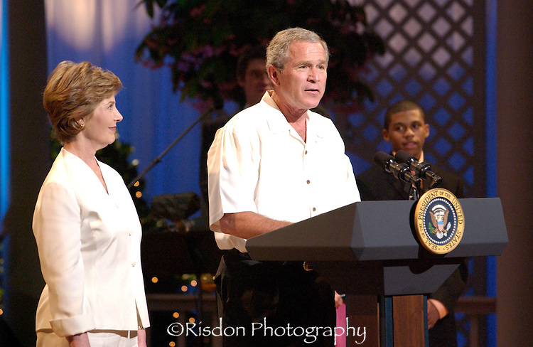 George & Laura Bush for WETA
