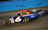Apr 16, 2009; Avondale, AZ, USA; NASCAR Camping World Series West driver Jason Bowles during the Jimmie Johnson Foundation 150 at Phoenix International Raceway. Mandatory Credit: Mark J. Rebilas-
