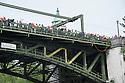 Montlake bridge above the race course