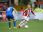 Sheffield United's Mark Duffy in action during the League One match at the Kingsmeadow Stadium, London. Picture date: September 10th, 2016. Pic David Klein/Sportimage