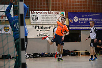 Simon Däubener (Erfelden) greift an - 12.03.2017: ESG Crumstadt/Goddelau vs. ESG Erfelden, Sporthalle Martin-Niemöller Schule