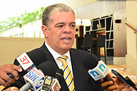 El ministro de Interior y Polic&iacute;a, Carlos Amarante Baret, dijo que los partidos pol&iacute;ticos respetaran la Regla de Oro en el proceso de elecci&oacute;n de la instalaci&oacute;n de los bufetes directivos para el a&ntilde;o 2017-2018.<br /> Foto: &copy; Edgar Hern&aacute;ndez<br /> Fecha:15/08/2017