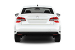 Straight rear view of 2016 Citroen C5-Berline Business 4 Door Sedan Rear View  stock images