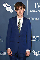 Alex Lawther<br /> arriving for the 2018 IWC Schaffhausen Gala Dinner in Honour of the BFI at the Electric Light Station, London<br /> <br /> ©Ash Knotek  D3437  09/10/2018