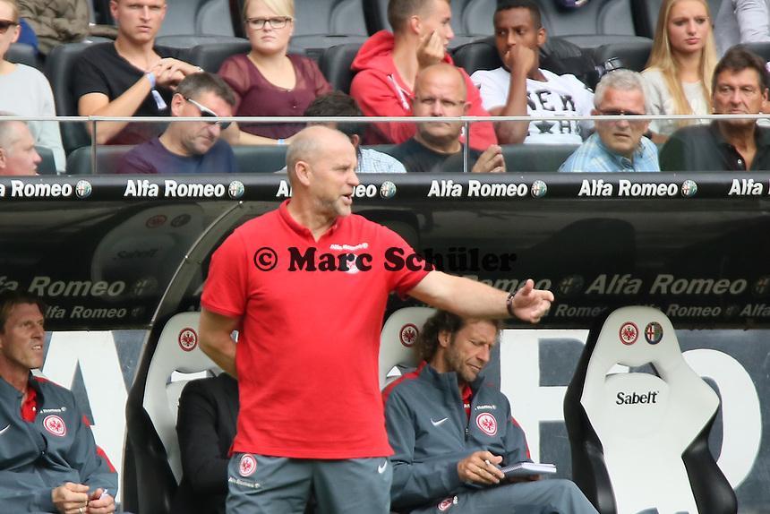 Trainer Thomas Schaaf (Eintracht) - Eintracht Frankfurt vs. FC Augsburg, Commerzbank Arena