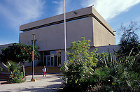 The Regional Museum of Anthropology and History and ethnobotanical garden in the city of La Paz, Baja California Sur, Mexico