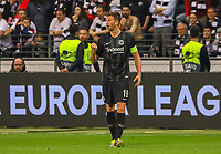Jubel David Abraham (Eintracht Frankfurt) - 18.04.2019: Eintracht Frankfurt vs. Benfica Lissabon, UEFA Europa League, Viertelfinale, Commerzbank ArenaDISCLAIMER: DFL regulations prohibit any use of photographs as image sequences and/or quasi-video.