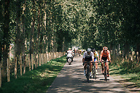forming of the first succesful breakaway group<br /> <br /> Antwerp Port Epic 2018 (formerly &quot;Schaal Sels&quot;)<br /> One Day Race:  Antwerp &gt; Antwerp (207 km; of which 32km are cobbles &amp; 30km is gravel/off-road!)