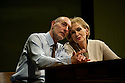 """London, UK. 11/01/2012. """"Lovesong"""", written by Abi Morgan and created by Frantic Assembly opens at the Lyric Hammersmith. Picture shows: Sam Cox (as Billy) and Sian Phillips (as Maggie). Photo credit: Jane Hobson"""