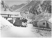 RGS #461 with short freight at Ophir headed south.<br /> RGS  Ophir, CO