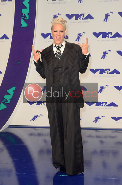 Pink<br /> at the 2017 MTV Video Music Awards, The Forum, Inglewood, CA 08-27-17<br /> David Edwards/DailyCeleb.com 818-249-4998
