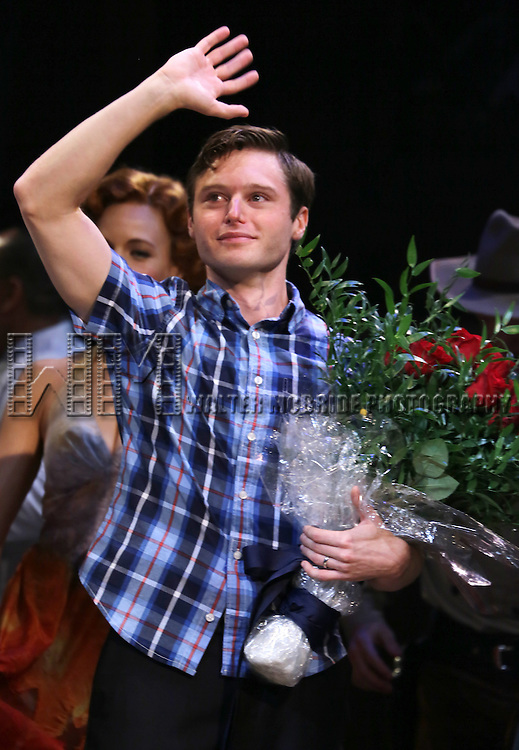 Bobby Steggert during the Broadway Opening Night Performance Curtain Call for 'Big Fish' at the Neil Simon Theatre on October 6, 2013 29, 2013 in New York City.