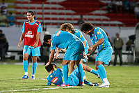 ATENÇÃO EDITOR: FOTO EMBARGADA PARA VEÍCULOS INTERNACIONAIS - RECIFE,PE,09 SETEMBRO 2012 - TREINO SELEÇÃO BRASILEIRA - Oscar durante treino da seleção brasileira na tarde de hoje no Estadio do Arruda em Recife.FOTO ALE VIANNA - BRAZIL PHOTO PRESS.