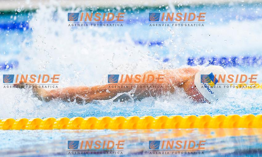 GOVOROV Andriy UKR<br /> London, Queen Elizabeth II Olympic Park Pool <br /> LEN 2016 European Aquatics Elite Championships <br /> Swimming<br /> Men's 50m butterfly preliminary <br /> Day 08 16-05-2016<br /> Photo Giorgio Perottino/Deepbluemedia/Insidefoto
