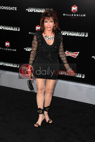 Fake Jackie Stallone<br /> at &quot;The Expendables 3&quot; Los Angeles Premiere, TCL Chinese Theater, Hollywood, CA 08-11-14<br /> David Edwards/Dailyceleb.com 818-249-4998