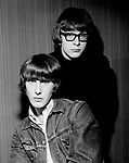 Peter and Gordon 1965 Gordon Waller and Peter Asher.© Chris Walter.
