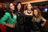 NEW YORK, NY - SEPTEMBER 26:..Ashley Weatherspoon, Julissa Bermudez, Bridget Kelly & Adrienne Bailon at the NBA 2K13 Premeire at 40/40....© Walik Goshorn / Retna Ltd. /MediaPunch Inc. /NortePhoto