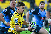 Hurricanes' Beauden Barrett in action during the Super Rugby quarterfinal between the Hurricanes and Bulls at Westpac Stadium in Wellington, New Zealand on Saturday, 22 June 2019. Photo: Dave Lintott / lintottphoto.co.nz