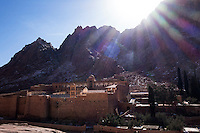 St Catherine, Sinai, December 2013