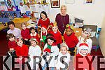 Little House Montessori getting ready for their Christmas concert at Moyderwell Mercy Primary School on Friday