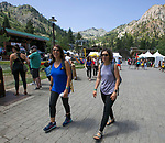 A photograph taken during Wanderlust at Squaw Valley on Saturday, July 21, 2018.