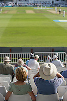 Picture by Allan McKenzie/SWpix.com - 11/09/2014 - Cricket - LV County Championship Div One - Nottinghamshire County Cricket Club v Yorkshire County Cricket Club - Trent Bridge, West Bridgford, England County Cricket Club - Fans, supporters watch the match.