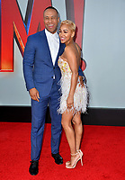 LOS ANGELES, CA. March 28, 2019: DeVon Franklin & Maegan Good at the world premiere of Shazam! at the TCL Chinese Theatre.<br /> Picture: Paul Smith/Featureflash