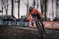Mathieu van der Poel (NED/Corendon-Circus)<br /> <br /> Elite Men's Race<br /> UCI CX Worlds 2018<br /> Valkenburg - The Netherlands