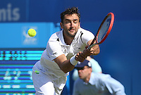 Marin Cilic (Croatia) during his match versus Marinko Matosevic (Australia)   - Aegon Tennis Championships - 10/06/14 - MANDATORY CREDIT: Rob Newell - Self billing applies where appropriate - 07808 022 631 - robnew1168@aol.com - NO UNPAID USE - BACS details for payment: Rob Newell A/C 11891604 Sort Code 16-60-51