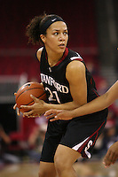FRESNO, CA - DECEMBER 30:  Rosalyn Gold-Onwude of the Stanford Cardinal during Stanford's 68-46 win over the Fresno State Bulldogs on December 30, 2009 in Fresno, California.