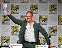 SAN DIEGO COMIC-CON© 2019:  L-R: 20th Century Fox Television's AMERICAN DAD Cast Member Dee Bradley Baker during the AMERICAN DAD panel on Saturday, July 20 at the SAN DIEGO COMIC-CON© 2019. CR: Frank Micelotta/20th Century Fox Television