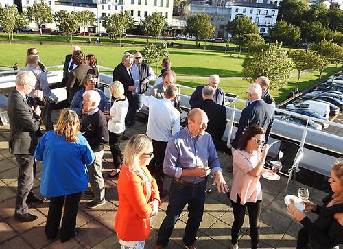 Howth Yacht Club Wave Regatta reception