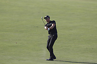Henrik Stenson (SWE) hits a shot out of the fairway on the 16th hole during the 118th U.S. Open Championship at Shinnecock Hills Golf Club in Southampton, NY, USA. 17th June 2018.<br /> Picture: Golffile | Brian Spurlock<br /> <br /> <br /> All photo usage must carry mandatory copyright credit (&copy; Golffile | Brian Spurlock)