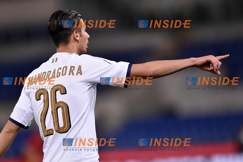 Rolando Mandragora Italia <br /> Roma 27-02-2017, Stadio Olimpico<br /> Football Friendly Match  <br /> Italy - Spain Under 21 Foto Andrea Staccioli Insidefoto