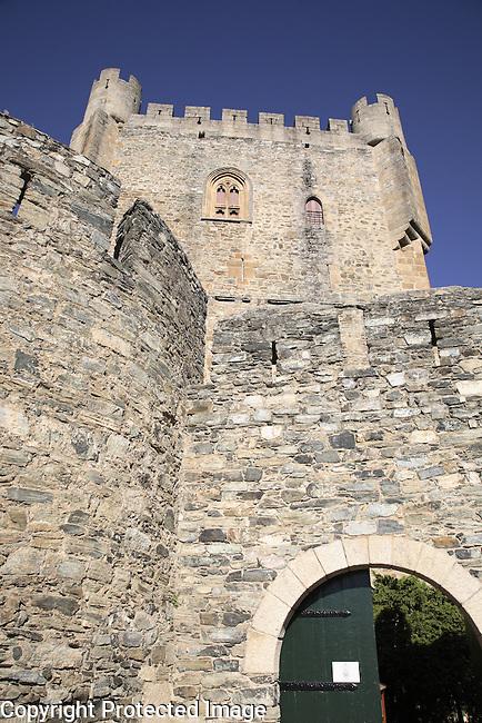 Menagem Tower, Cidadela, Braganca, Tras os Montes Oriental, Portugal