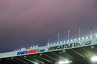 Stormy clouds over St James' Park during Newcastle United vs Luton Town, Emirates FA Cup Football at St. James' Park on 6th January 2018