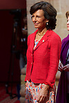 Ana Patricia Botin attended an audience with Principe de Asturias Awards 2014 winners at the Reconquista Hotel on October 24, 2014 in Oviedo, Spain. (POOL/ALTERPHOTOS)