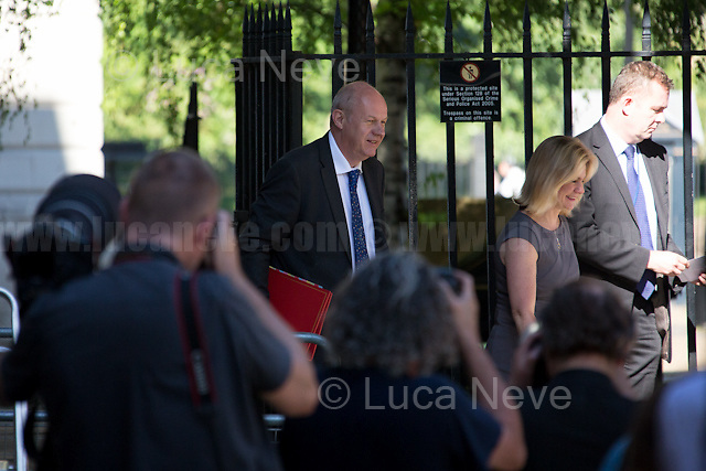 Damian Green (Secretary of State for Work and Pensions).<br /> <br /> London, 19/07/2016. First Cabinet meeting at 10 Downing Street (after the EU Referendum and consequent David Cameron's resignation) for the new Prime Minister Theresa May and her newly formed Conservative Government.<br /> <br /> For more information about the Cabinet Ministers: https://www.gov.uk/government/ministers