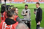 14.04.2018, BayArena, Leverkusen , GER, 1.FBL., Bayer 04 Leverkusen vs. Eintracht Frankfurt<br /> im Bild / picture shows: <br /> Interview Trainer / Headcoach Niko Kovic (Eintracht Frankfurt),  <br /> <br /> <br /> Foto &copy; nordphoto / Meuter
