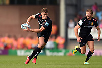 Ollie Devoto of Exeter Chiefs in possession. Gallagher Premiership match, between Exeter Chiefs and Leicester Tigers on September 1, 2018 at Sandy Park in Exeter, England. Photo by: Patrick Khachfe / JMP
