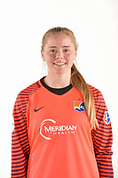 Belmar, NJ - Wednesday March 29, 2017: Tori Corsaro poses for photos at the Sky Blue FC team photo day.